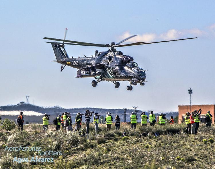 Mil Mi-24 NATO Tiger Meet Zaragoza 2016