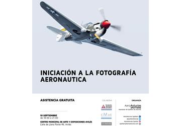 Workshop Iniciación Fotografía Aeronáutica