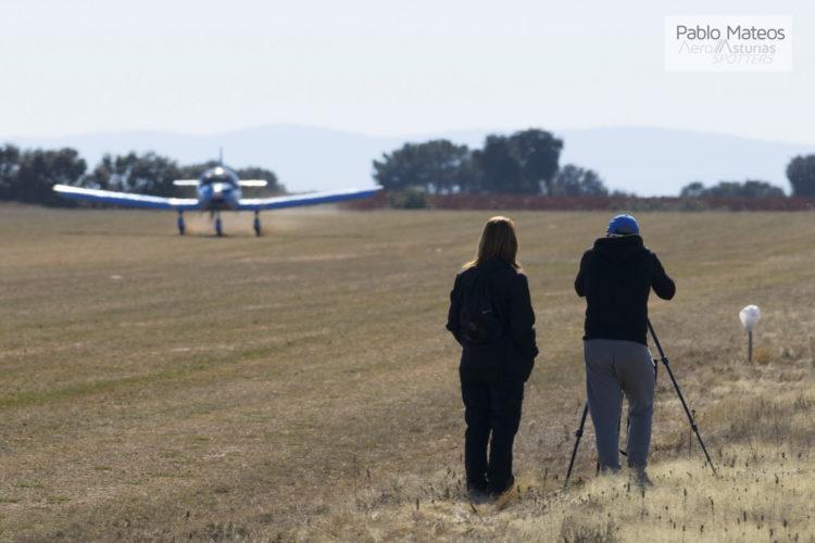 Spotters haciendo fotos en Astorga