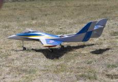 Aeromodelo propulsado a turbina