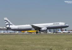 Aegean A321 SX-DGQ
