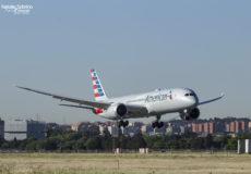 American Boeing 787 N822AN