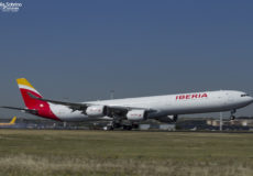 Iberia A340 EC-JCZ