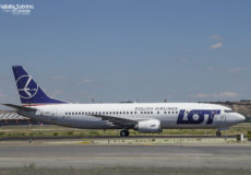 LOT Boeing 737 SP-LLF