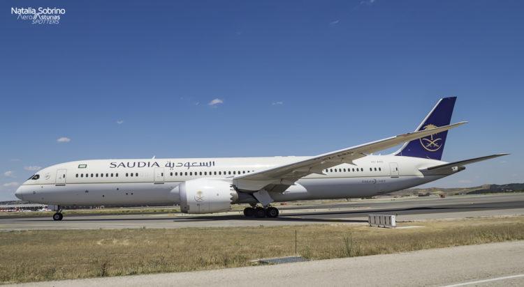 Saudia Boeing 787 Dreamliner HZ-ARD