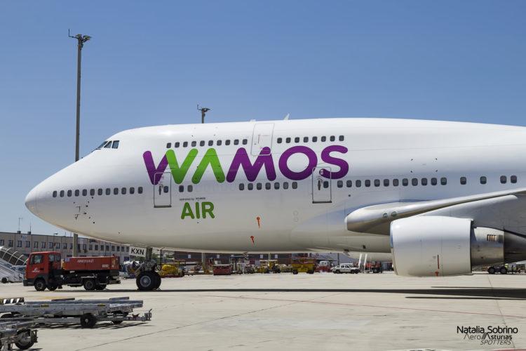 Wamos Air Boeing 747 EC-KXN