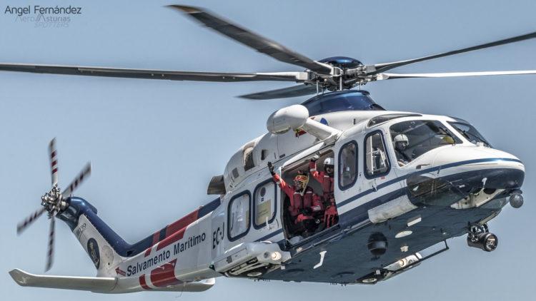 Helicóptero AW-139 Salvamento Marítimo
