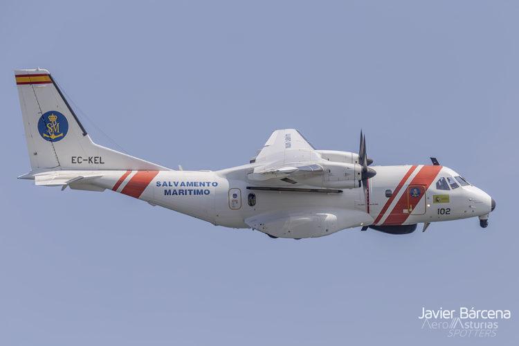 CN-235 de Salvamento Marítimo