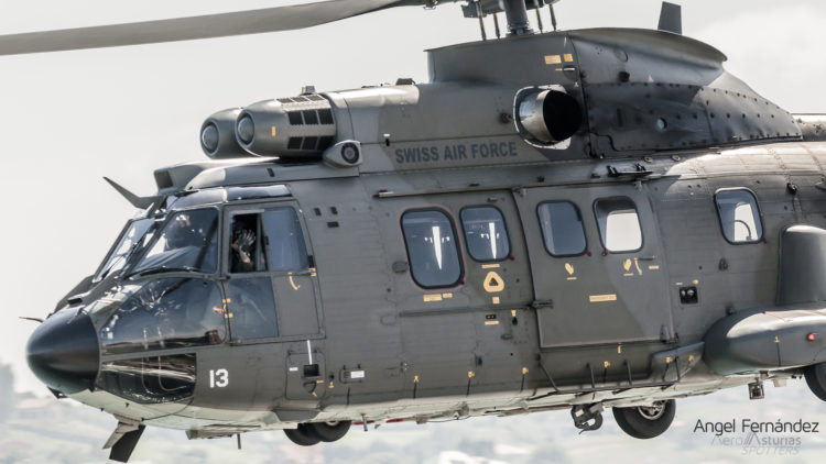 Super Puma de la Swiss Air Force